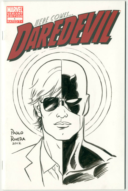 paolo rivera daredevil cover - photo #24