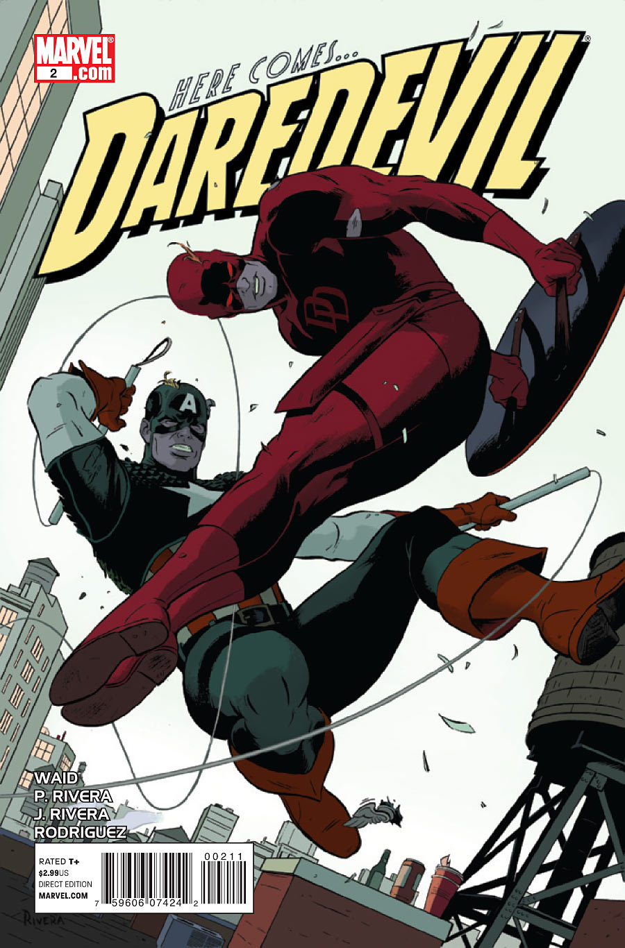 paolo rivera daredevil cover - photo #15