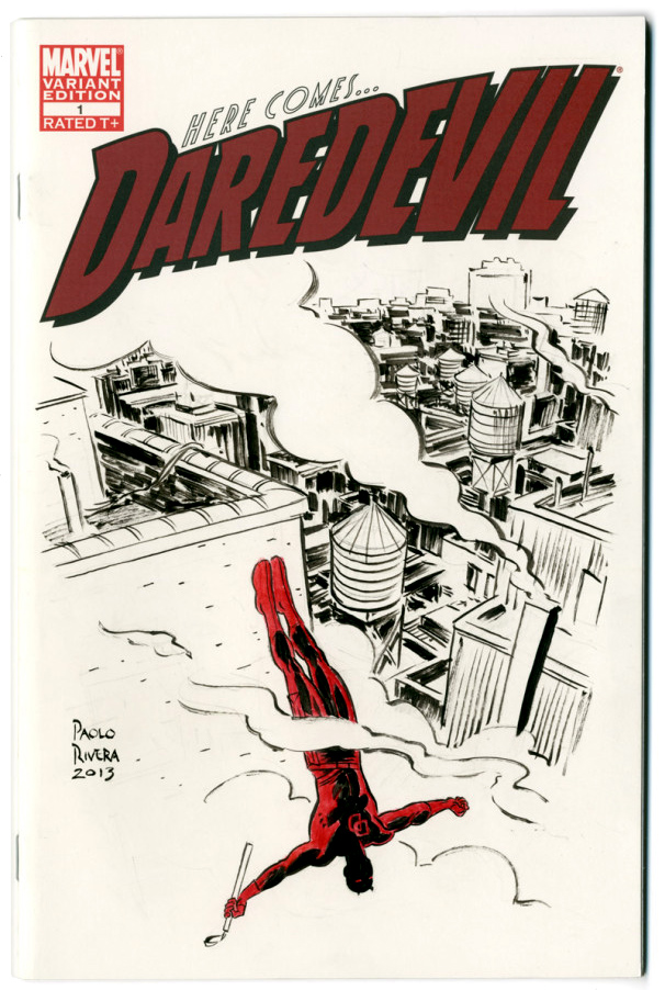 paolo rivera daredevil cover - photo #12