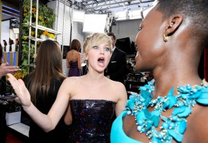 Jennifer-Lawrence-Lupita-Nyongo-SAG-Awards-2014