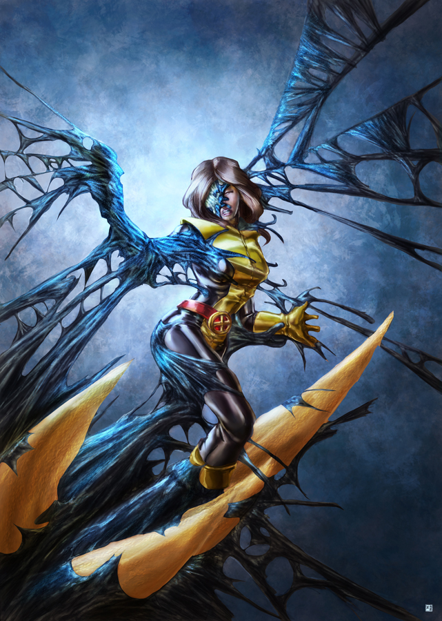 fan art of the week symbiote mockingbird by eric ng
