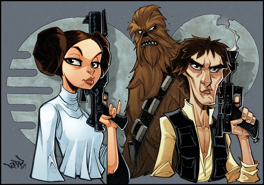 han__chewie_and_leia_in_full_colour__by_red_j-d9g8o51