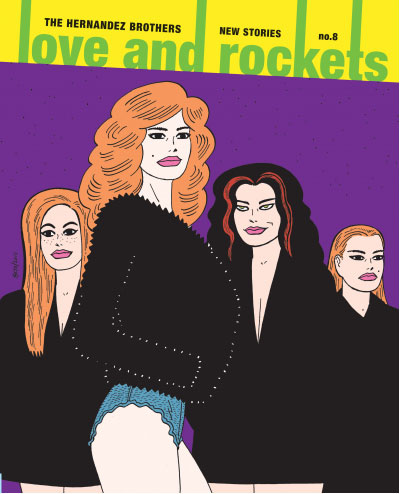 Love & Rockets Vol. 3 #8 by Gilbert Hernandez
