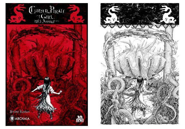 Cursed Pirate Girl 2015 Annual by Jeremy Bastian