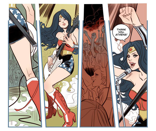 DC Comics Bombshells Wonder Woman by Marguerite Sauvage
