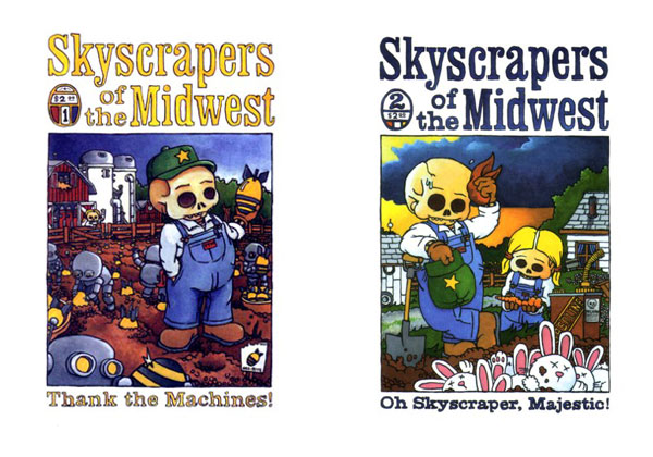 Self-published Skyscrapers of the Midwest 1-2 by Joshua W. Cotter