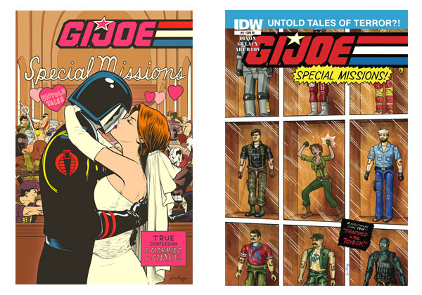 G.I. Joe Special Missions(IDW) #1 & #3 variant covers by Jim Rugg
