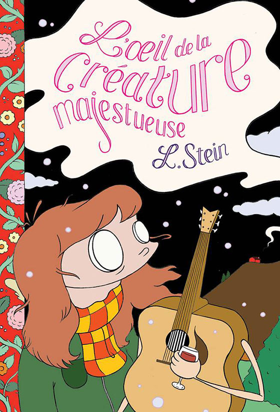 French cover to Eye of the Majestic Creature by Leslie Stein
