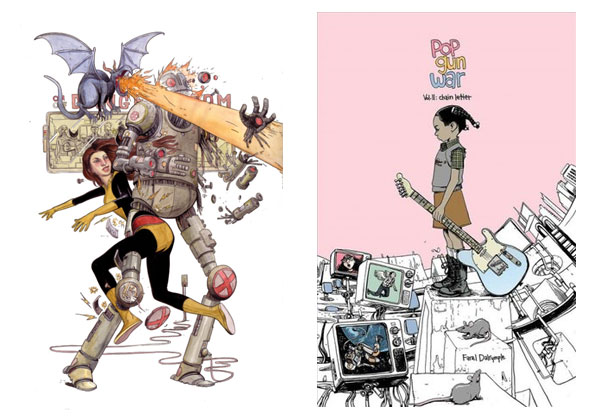 Kitty Pryde & Pop Gun War by Farel Dalrymple