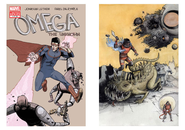 Omega the Unknown & Prophet by Farel Dalrymple